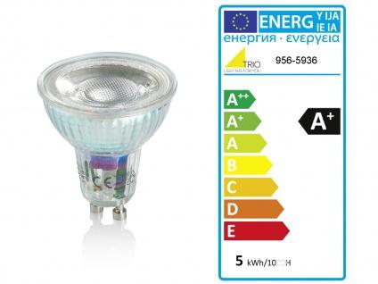 Deckenstrahler mit 5 LEDs für Wohnzimmer, Schlafzimmer & Küche aus weißem Metall - Vorschau 4