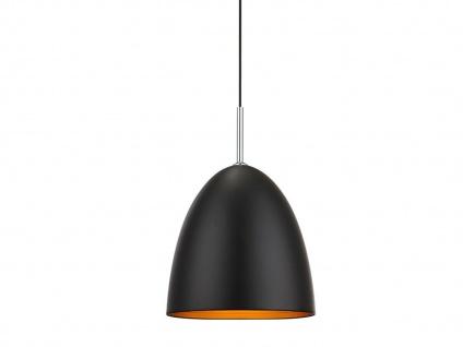 LED Hängeleuchte dimmbar, schwarz gold, Pendelleuchte Küchenlampe Esstisch - Vorschau 2