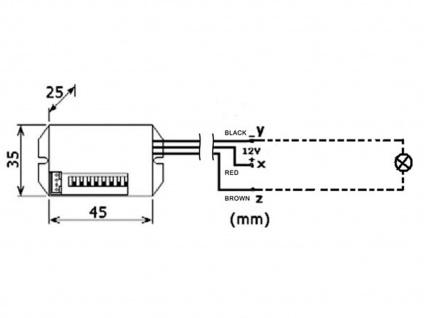 2er Set Mini PIR-Bewegungssensor, 100°/8m, weiß, Bewegungsmelder PIR Sensor - Vorschau 4