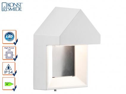 Edle Wandleuchte COSENZA, weiß, 5 Watt HP-LED, 400 Lumen, IP54