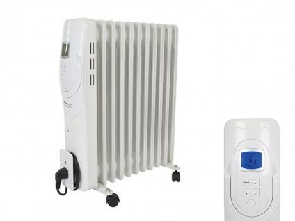 Öladiator Heizkörper mit Thermostat & Zeitschaltuhr, mobile Elektrozusatzheizung
