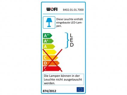 2er Set LED Tischleuchte 3-Stufen Dimmer Chrom H. 44cm Wohnraumleuchten Lampen - Vorschau 3