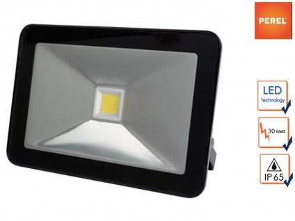 30W LED Arbeitsleuchte warmweiß, Scheinwerfer Fluter Strahler Baustrahler IP65
