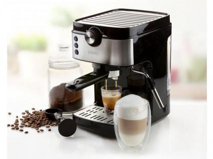 Espressomaschine mit Milchaufschäumer - Siebträger Kaffeemaschine für Zuhause - Vorschau 1