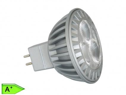 LED-Leuchtmittel 4W, MR16/GU5.3, 210 Lm, warmweiß, XQ-lite
