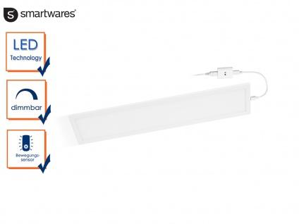 Dimmbare LED-Lichtleiste mit Bewegungssensor L. 46cm Einbau in Schränke Möbel