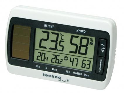 Digitales Innen Thermometer mit Luftfeuchtigkeits Messung Temperaturmesser 007