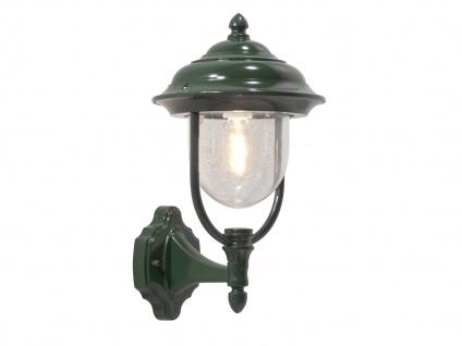 Wandleuchte Außenwandleuchte Laterne PARMA, Aluminium grün, E27, IP43 - Vorschau 2