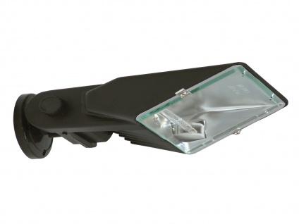 Halogenaußenstrahler Aluminium schwarz R7S Flutlicht für Fassadenbeleuchtung