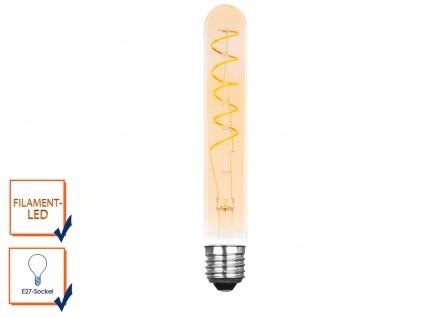 FILAMENT LED Leuchtmittel Tube mit 3 Watt, 150 Lumen, 2000 Kelvin, E27-Sockel
