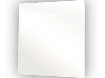 300W Glasheizpaneel, Infrarotheizung weiß, Glaspaneel ohne Rahmen, Vitalheizung - Vorschau 2