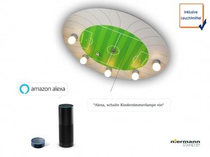 LED Kinder Deckenleuchte Fußball Stadion Amazon Echo kompatibel Schlummerlicht