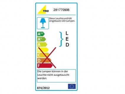 Bad-Wandleuchte, ink. 1 x 9W LED, Länge 88cm, IP44, m. Schalter Chrom - Vorschau 3