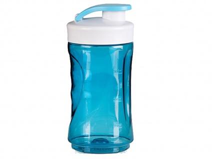 Ersatzbehälter / Trinkflasche für Smoothie Maker Mixer 300ml, blau, DOMO - Vorschau 2