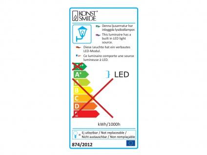 2er-Set Außenwandleuchten ACERRA, weiß, 5 Watt LED, 400 Lumen, IP54 - Vorschau 4