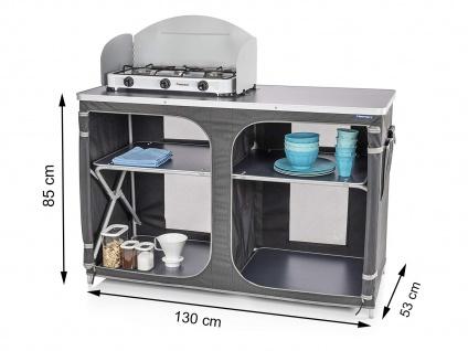 Große Stabile XXL Campingküche faltbar Campingschrank Küchenschrank Küchenmodul