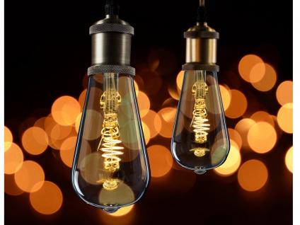 3x FILAMENT LED Leuchtmittel ST64 mit 3 Watt, 150 Lumen, 2000 Kelvin, E27-Sockel - Vorschau 5