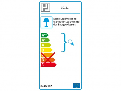 Wandleuchte / Leselampe mit Schalter, flexibel biegsam, Honsel Leuchten - Vorschau 3