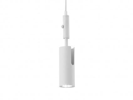 Hängelampe Weiß matt mit Kabel & Stecker für Steckdose Spot schwenkbar Leselicht - Vorschau 5