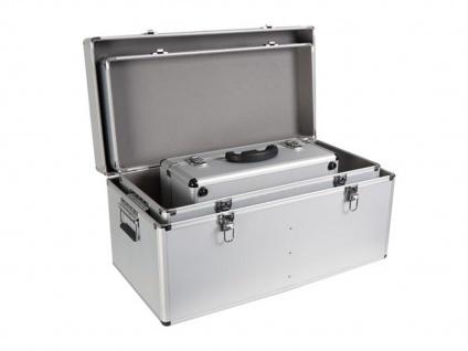 Werkzeugkoffer Werkzeugkiste Werkzeugkasten Aluminium Case 3-teilig - Vorschau 3