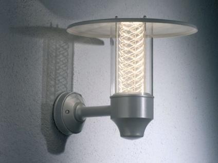 Silberne Wandleuchte NOVA mit Reflektorgitter, GU10, Aluminium, IP44