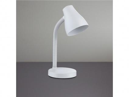 Moderne Tischleuchte REYK in weiß, Höhe 35 cm, Action by Wofi