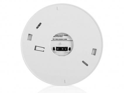 2er Set vernetzbare Rauchmelder 230V oder Batterie, Alarmmelder 85dB - Vorschau 5