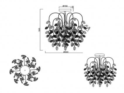 Florentiner Deckenleuchte ausgefallene Wohnzimmer Esszimmer Flur Designerlampen - Vorschau 4