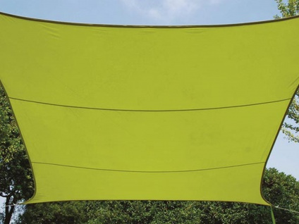 Sonnensegel rechteckig 12m² grün, wasserfester Sonnenschutz für Terrasse Balkon