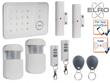 SMART HOME GSM Alarmanalge Handy Überwachung App kostenlos Funk Hausalarmanlagen