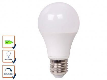 LED Leuchtmittel 9 Watt, 806 Lumen, 2700 Kelvin, E27-Sockel, dimmbar, LED Lampe