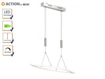 Wofi LED Pendelleuchte NEVIL höhenverstellbar dimmbar, Hängelampe Esstisch