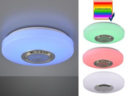 LED Deckenleuchte dimmbar mit Bluetooth Lautsprecher Fernbedienung & Farbwechsel