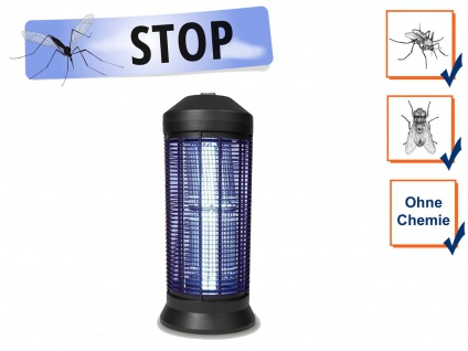 Profi Stechmückenfalle Gastronomie mit UV Licht elektrischer Mückenschutz Abwehr