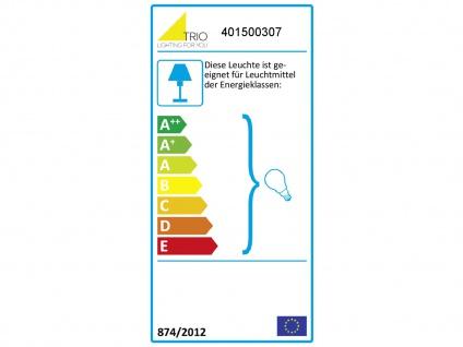 3fl. Standlampe in Nickel matt Glas Lampenschirme drehbar - Wohnraumleuchten - Vorschau 3
