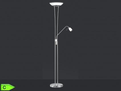 Deckenfluter mit Lesearm, inkl. Leuchtmittel, dimmbar, H. 180cm, Nicke