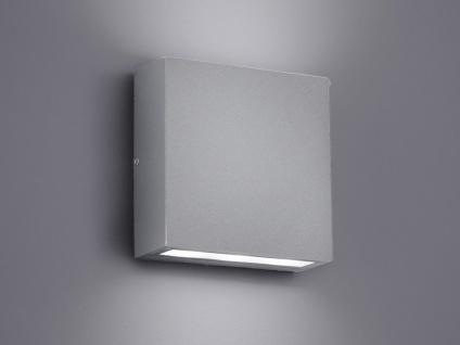 LED Außen-Wandleuchte THAMES, titan, UP/DOWN 2 x 3 Watt, IP54, 14x14