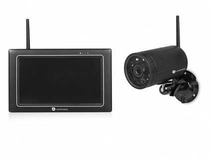 Überwachungskamera außen mit Monitor Aufzeichung, Outdoor Videoüberwachung App