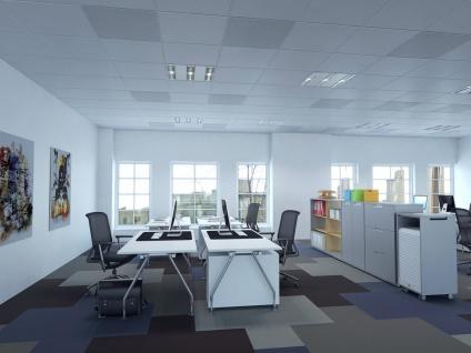 700W Infrarotheizung, 120x60cm, für Räume ab 3m Höhe 18-35m³, IP65, bemalbar - Vorschau 3