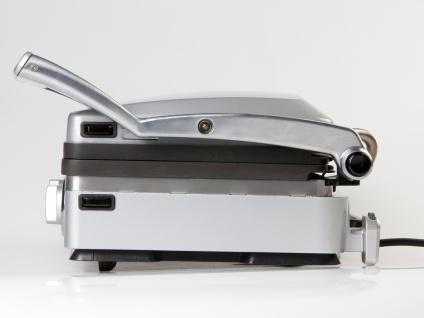 Großer Kontaktgrill Tischgrill Paninimaker mit Wechselplatten & Timer 1800 Wattt - Vorschau 5