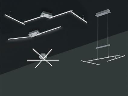 LED Deckenleuchte HIGHWAY Aluminium gebürstet Acryl weiß B. 180 cm - Vorschau 5