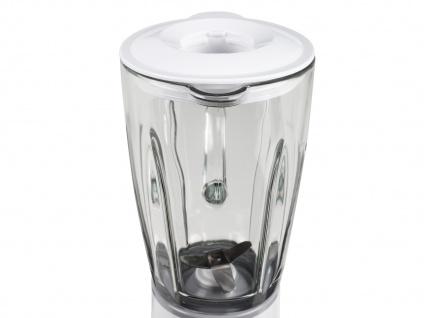 Standmixer weiß 180W 0, 45 Liter Blender Bar Mixer Smoothie Maker Zerkleinerer - Vorschau 4