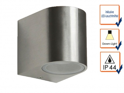6er Set Ranex SMD-LED Wandleuchte Metall, downlight, IP44, 230Lm - Vorschau 3