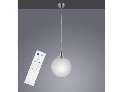 LED Kugel Pendelleuchte Glas Ø30cm in Weiß smarte Lichtsteuerung WIZ per App