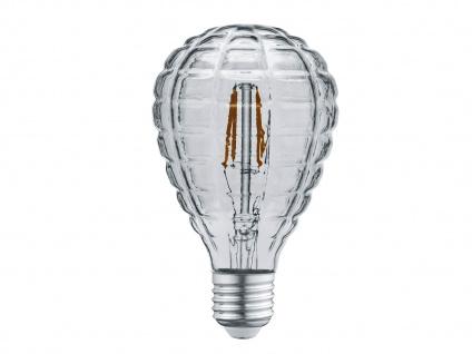 Retro Filament LED Leuchtmittel Tropfen rauchfarbig E27 Sockel 4 Watt 140 Lumen
