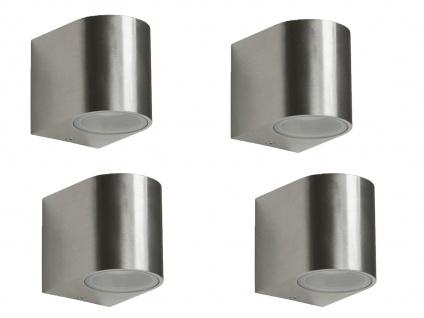4er Set Ranex SMD-LED Wandleuchte Metall, downlight, IP44, 230Lm