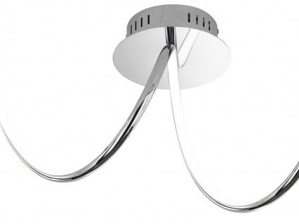 LED Deckenleuchte UNIQUE, Chrom, LED Deckenlampen Deckenleuchte Deckenlampe - Vorschau 2