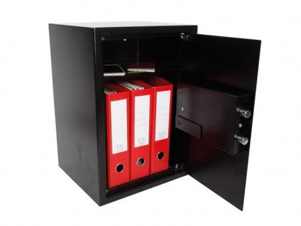 Elektronischer Safe Aktentresor 43 Liter Wertschutzschrank Möbelsafe für Schmuck - Vorschau 2