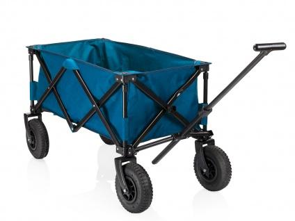 Faltbarer Klappbollerwagen mit Luftreifen für Kinder klappbarer Faltbollerwagen - Vorschau 4
