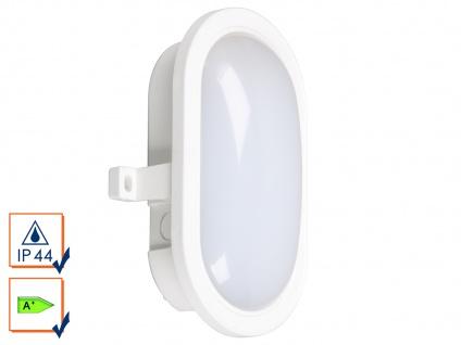 LED Wandleuchte Außenleuchte weiß, 450 Lumen, 4000 Kelvin, IP44 - Vorschau 1